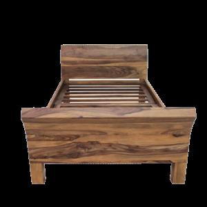 łóżko drewniane kolonialne nano