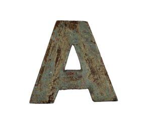 LITERY DEKORACYJNE ALFABET DREWNIANY A