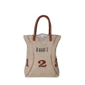 PŁÓCIENNA TORBA VINTAGE 'BASEBALL1887'