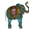 Dekoracja Metalowa Indyjska Slon
