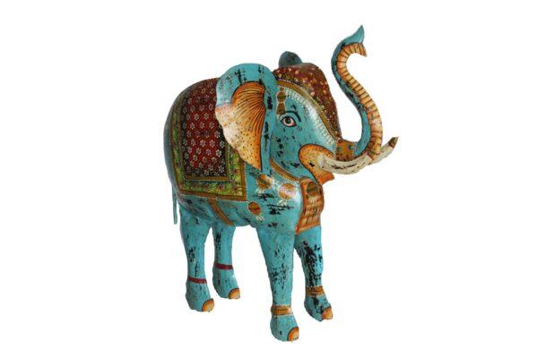 Dekoracja Metalowa Indyjska Slon 2