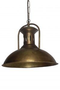 LAMPA SUFITOWA-LOFT-ZLOTA