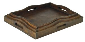 Taca drewniana 3 - komplet 3 sztuki