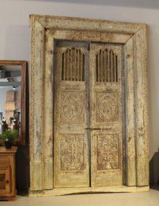 drzwi-drewniane-antyk-tekowe