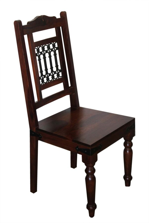 krzesło drewniane kolonialne