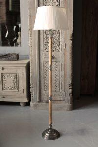 LAMPA-DREWNO-METAL-137-CM-N