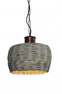 lampa wisząca z Rattanu