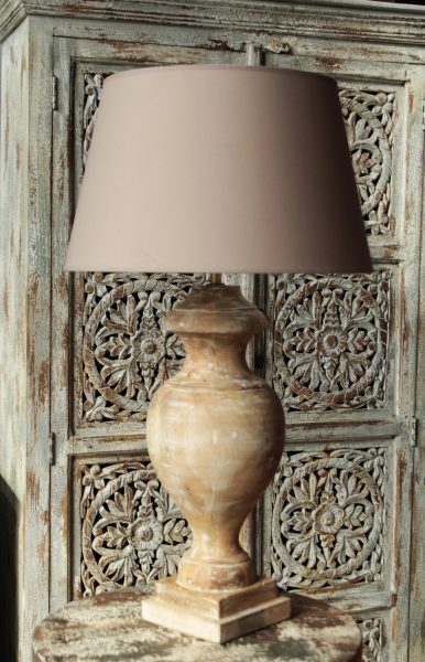 LAMPA-STOŁOWA-DREWNIANA-KLASYCZNA