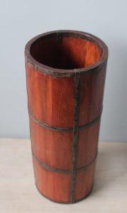 pojemnik dekoracja drewniana