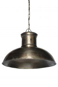 LAMPA SREBRNA METALOWA