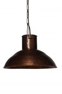 LAMPA SUFITOWA METALOWA MIEDZIANA LOFT