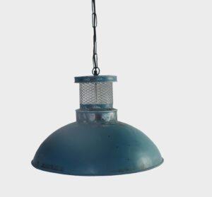 lampa niebieska