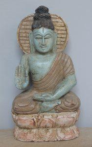 FIRGURKA DREWNIANA BUDDHA 5
