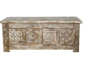 skrzynia dekoracyjna drewniana orient