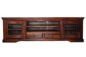 komoda kolonialna drewniana jali