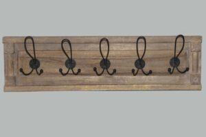 drewniany wieszak loft kod 6328 wymiary 77x12x21