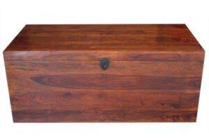 kufer drewniany palisander