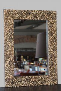 lustro drewniane 44x2x59 kod 1109-49