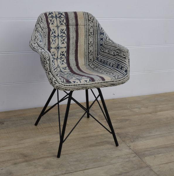 Fotel loftowy tapicerowany