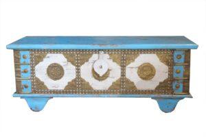 kufer indyjski drewniany