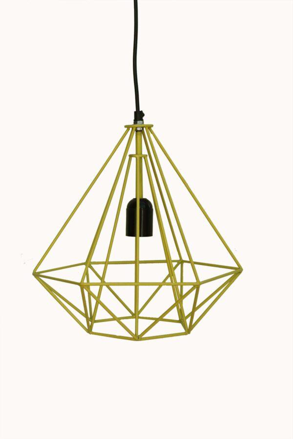 Lampa wisząca metalowa industrialna