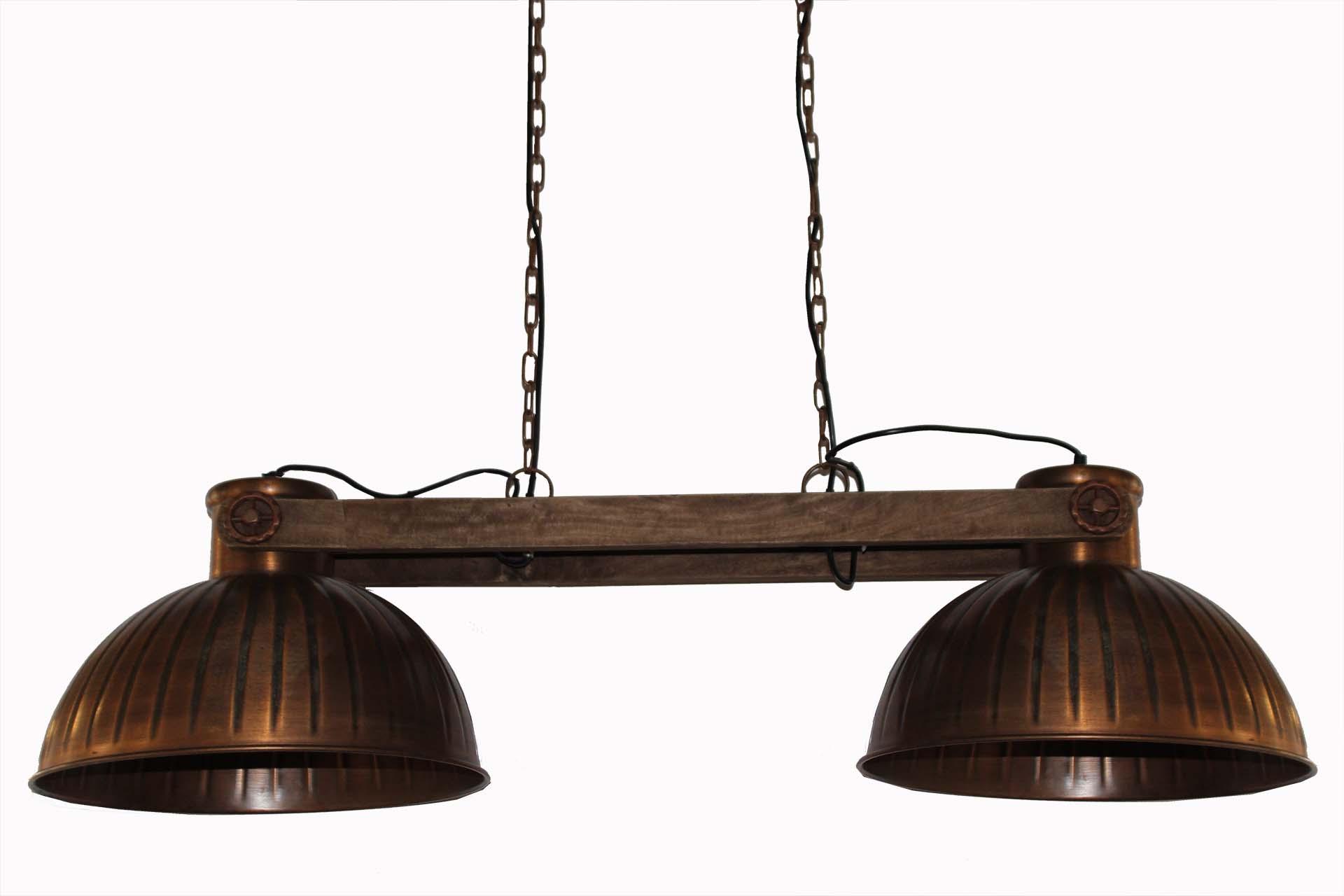 Lampa Sufitowa Industrialna Miedziana Indigodecor
