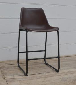 Loftowe Krzesło Skórzane