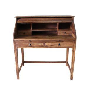 biurko-drewniane-sekretarzyk-kolonialne-nano