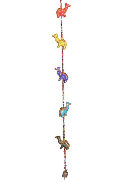 dzwonki wiszące wielbłądy