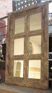 Lustro drewniane rzeźbione