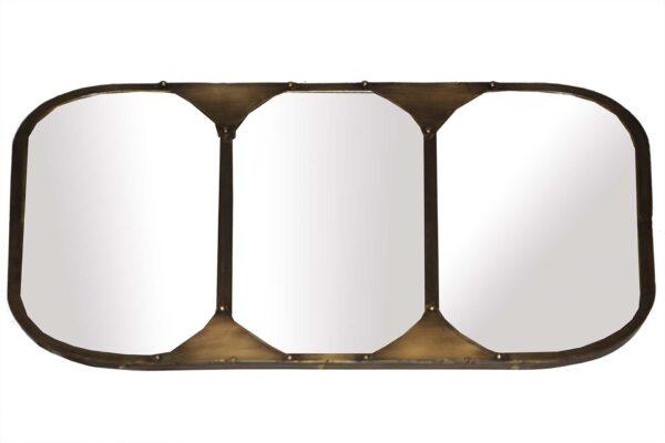 Lustro loftowe metalowe