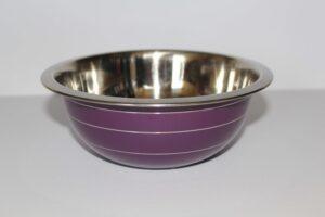 miska mała kuchenna fioletowa