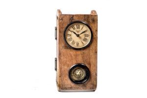 zegar drewniany z wahadłem FS-1329 Front