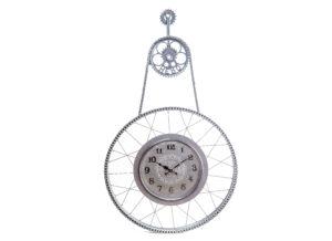 Zegar w rowerowym kole