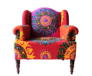 fotel boho mały
