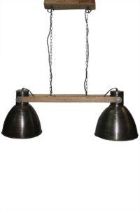 LAMPA-METALOWA-KOMPLET 2 SZT