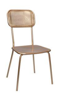 Krzesło metalowe to idealny mebel do wnętrz industrialnych. Krzesło nie tylko jest funkcjonalne ale będzie również ozdobą całego wnętrza.