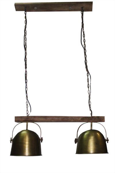 LAMPA-SUFITOWA-ZŁOTA-SET