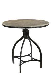 Loftowy metalowy stolik STO24