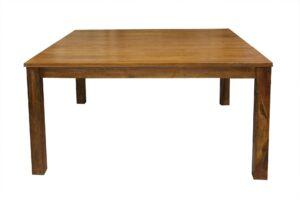 Stół kwadratowy z drewna Akacji