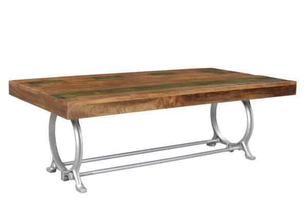 industrialny stolik z drzewa Mango STO17