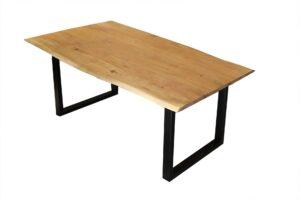 stół-drewniany-z-metalowymi-nogami