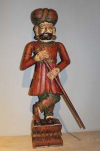 Figura drewniana duża