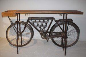 rower-retro-dekoracja-półka