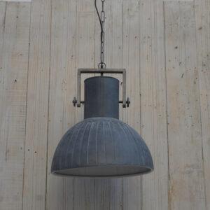 LAMPA SUFITOWA LOFTOWA  W KOLORZE SZARYM