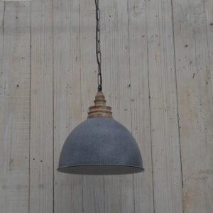 LAMPA INDUSTRIALNA  MEATLOWA SZARA