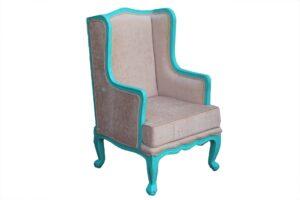 fotel w stylu ludwika XVI
