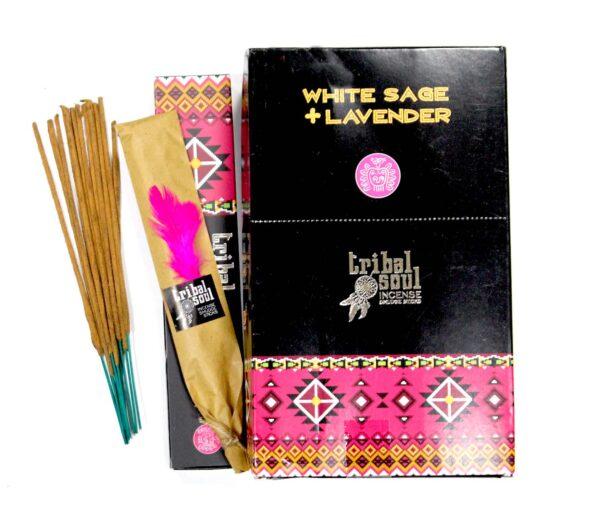 tribal-kadzidło-white sage-lavender