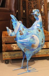 dekoracja kura