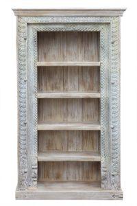 regał-drewniany-biblioteka orient